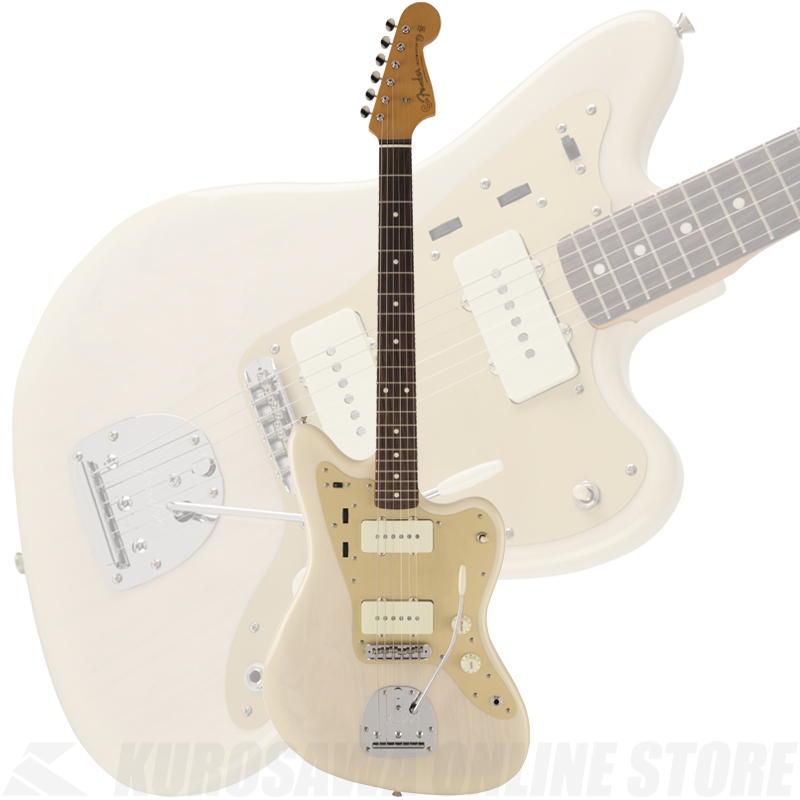 Fender Made in Japan Traditional 60s Jazzmaster Anodized Ash(White Blonde)[数量限定モデル]【送料無料】 【ONLINE STORE】