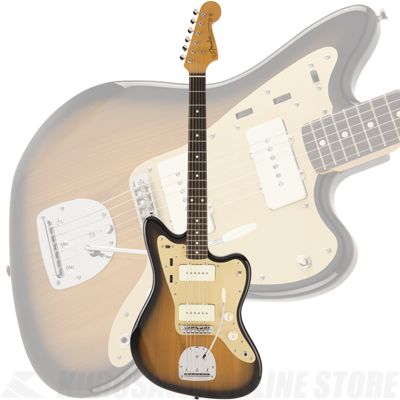Fender Made in Japan Traditional 60s Jazzmaster Anodized Ash(2-Color Sunburst)[数量限定モデル]【送料無料】 【ONLINE STORE】