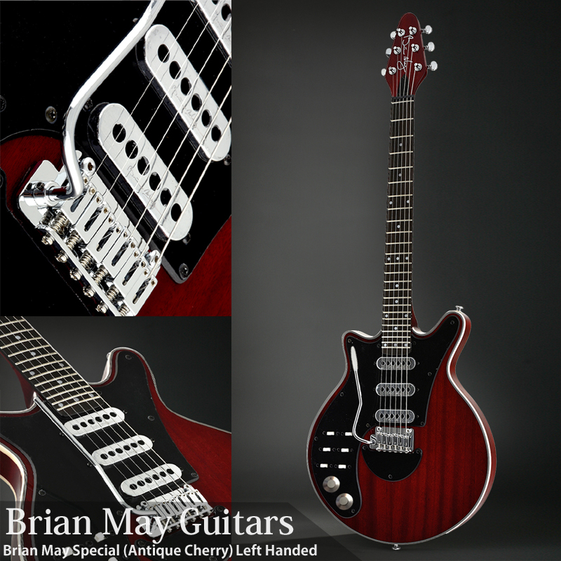 Brian May Guitars Brian May Special (Antique Cherry)Left Handed【サントアンジェロKILLSWITCH ONEケーブルプレゼント!】(次回入荷分ご予約受付中) 【ONLINE STORE】