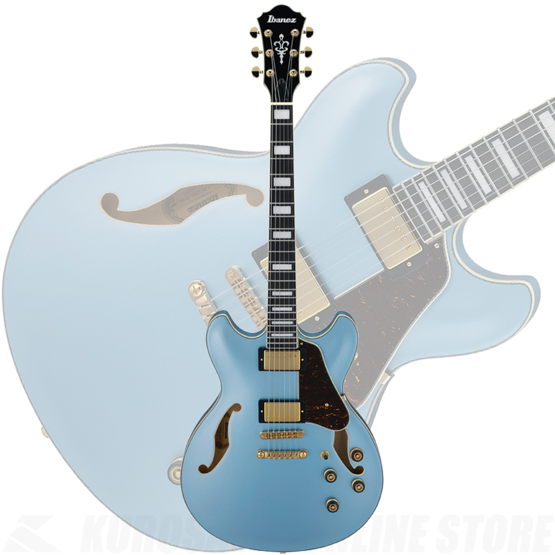 Ibanez AS83-STE(Steel Blue)《サントアンジェロAcousticケーブルプレゼント!》【送料無料】 【ONLINE STORE】