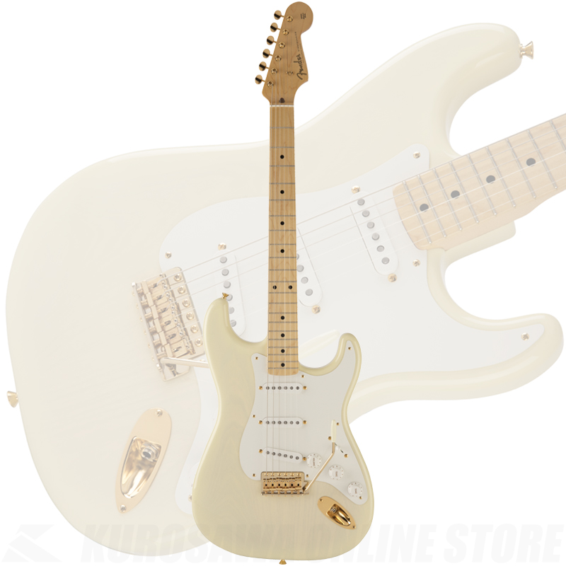 Fender Made in Japan 2018 Limited Collection 50s Stratocaster White Blonde《限定生産品》【送料無料】 【ONLINE STORE】