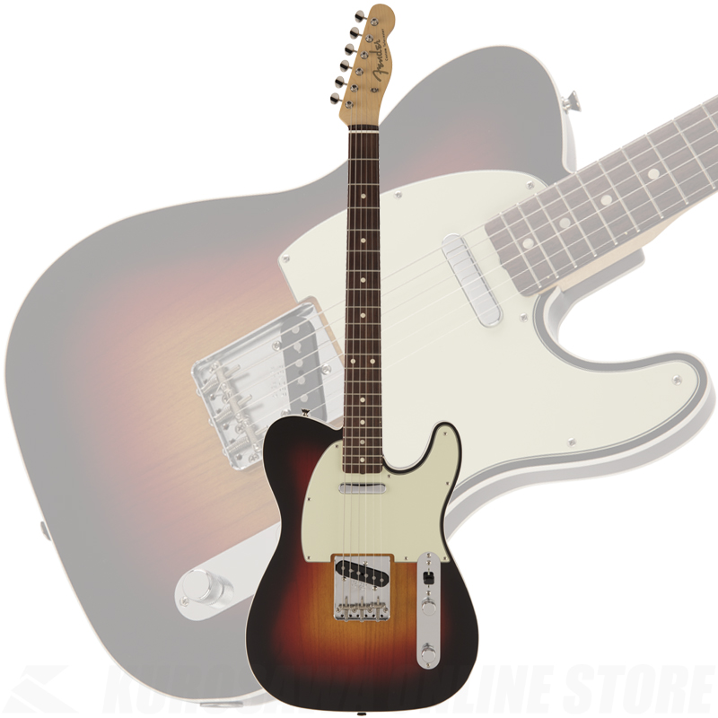 Fender Made in Japan 2018 Limited Collection 60s Custom Telecaster 3-Color Sunburst《限定生産品》【送料無料】 【ONLINE STORE】