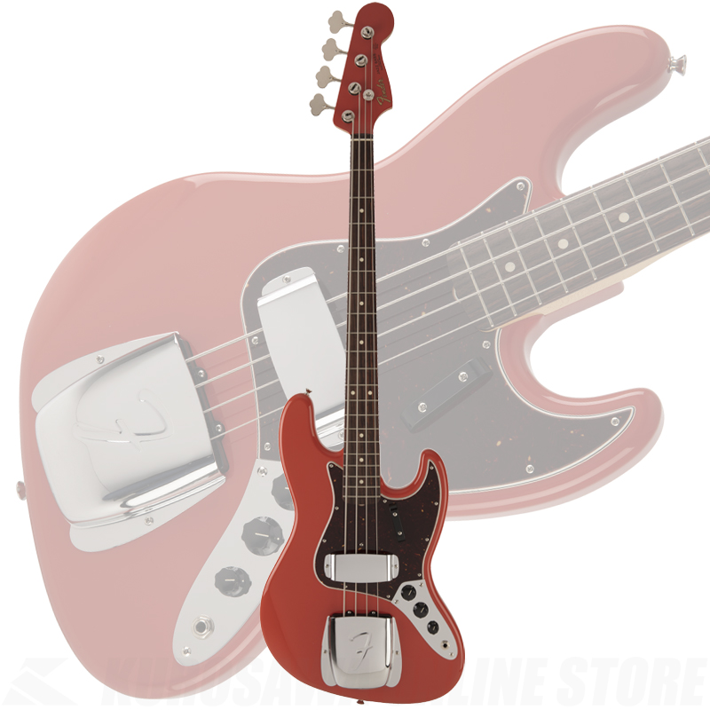 Fender Made in Japan 2018 Limited Collection 60s Jazz Bass Fiesta Red《限定生産品》【送料無料】 【ONLINE STORE】