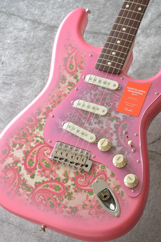 Fender Made in Japan Traditional MIJ '60s Stratocaster , Rosewood, Pink Paisley【アウトレット特価】 【ONLINE STORE】