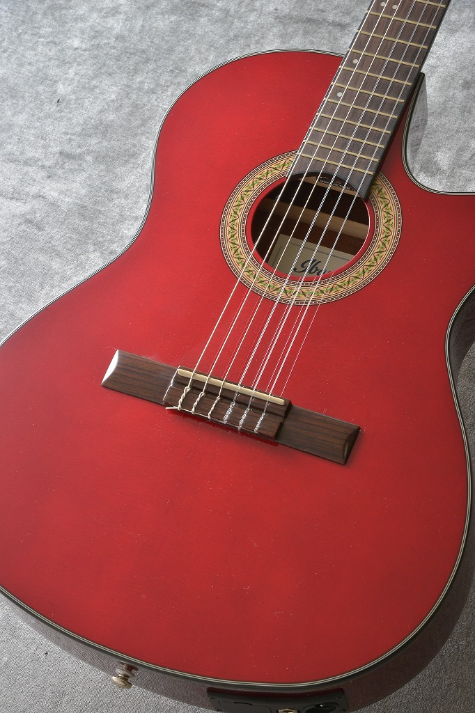Ibanez GA30TCE-TRD (Transparent Red)【送料無料】 【ONLINE STORE】
