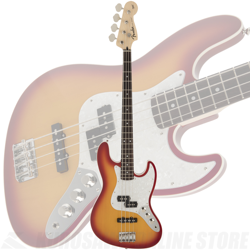 Fender FSR Aerodyne Jazz Bass, Sienna Sunburst《限定品》【送料無料】 【ONLINE STORE】