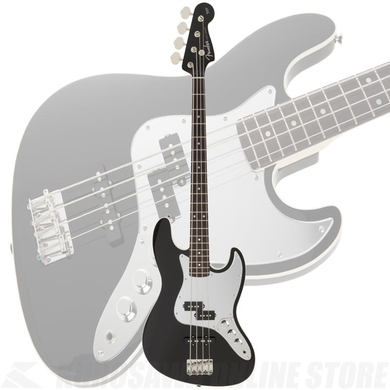 Fender FSR Aerodyne Jazz Bass, Black《限定品》【送料無料】 【ONLINE STORE】