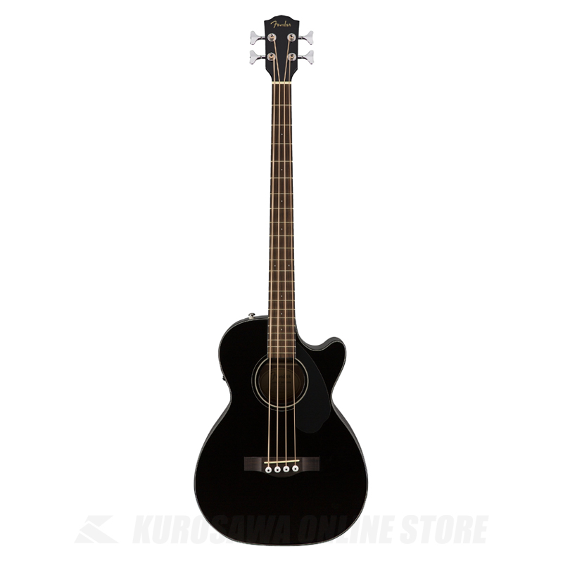 Fender CB-60SCE BLK Black[0970183006] (アコースティックベース) (送料無料)(ご予約受付中)【ONLINE STORE】