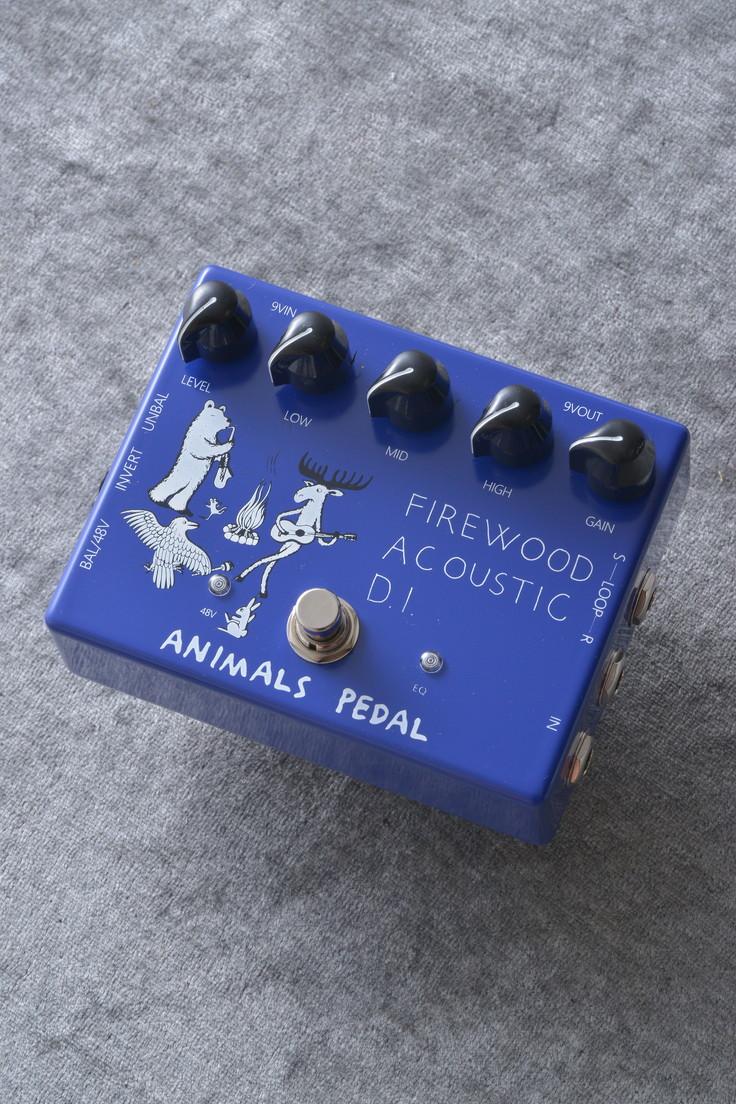 Animals Pedal / Firewood Acoustic D.I.《エフェクター/アコースティックギター用DI/ブースター》【送料無料】【ONLINE STORE】