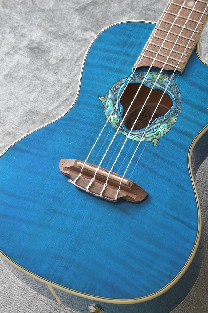 Luna Guitars ルナ ギターズ UKE DOLPHIN コンサート【送料無料】【SAVAREZ Low-G弦 144RL プレゼント】[UKE DPN]【ONLINE STORE】