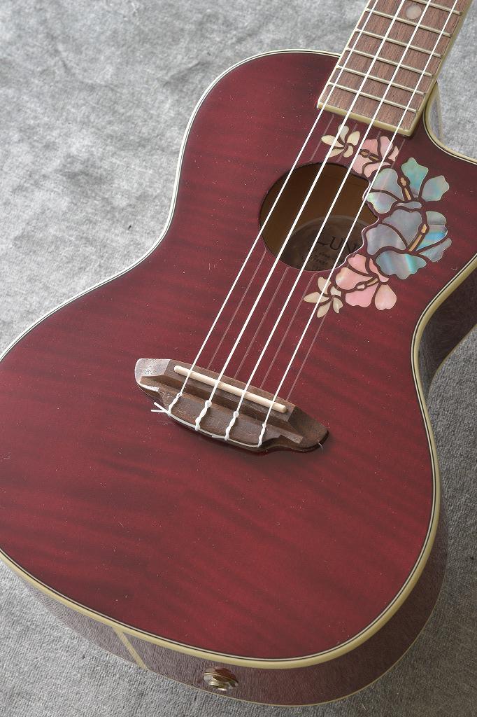 Luna Guitars ルナ ギターズ UKE FLORAL コンサート【送料無料】(入荷しました!)【ONLINE STORE】