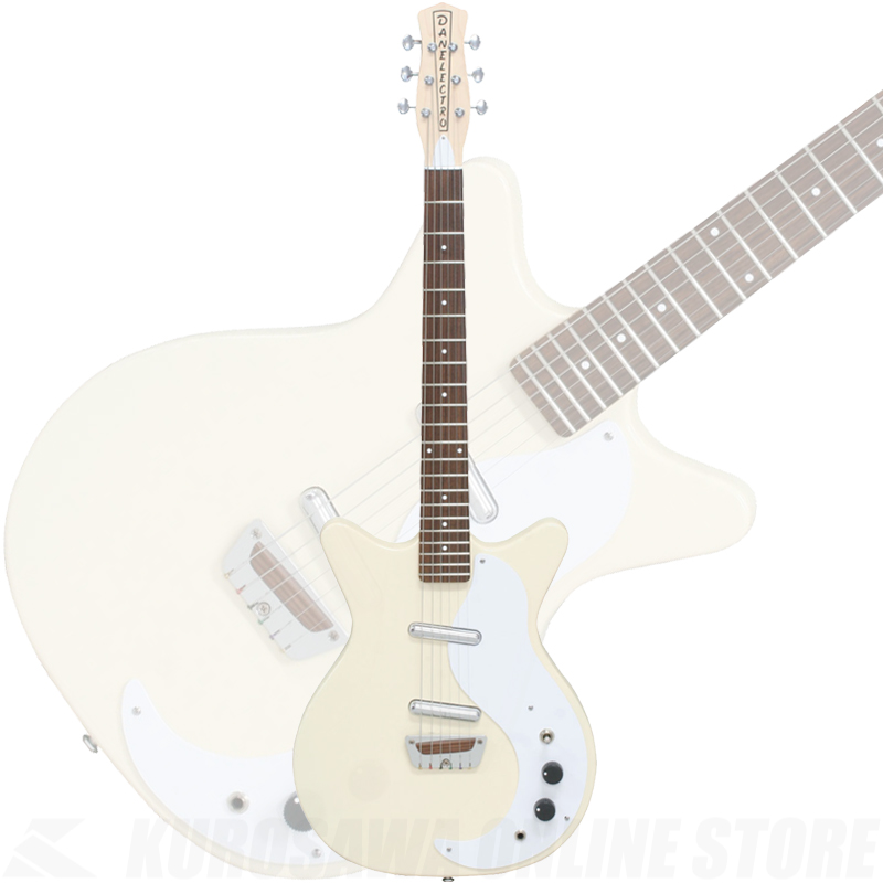 Danelectro  STOCK '59 VCRM(VINTAGE CREAM) [限定生産]【サントアンジェロKANDOケーブルプレゼント!】 【ONLINE STORE】