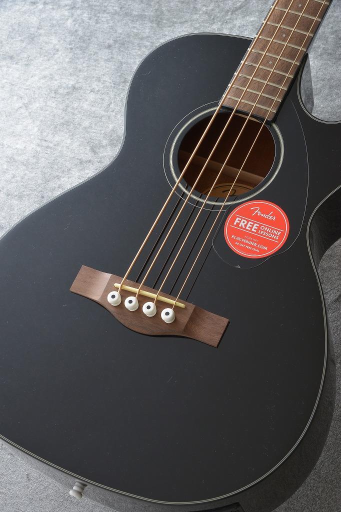 Fender CB-60SCE BLK《アコースティックベース【送料無料】【ご予約受付中】 【ONLINE STORE】