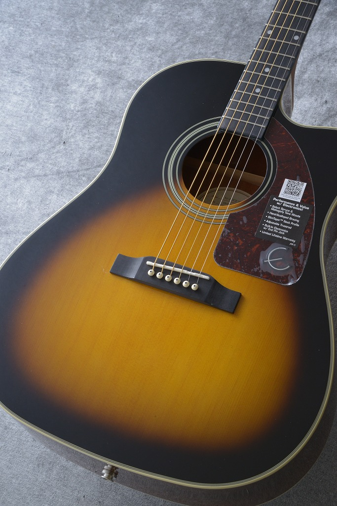 Epiphone Epiphone AJ-210CE Outfit【サントアンジェロAcousticケーブルプレゼント!】 【ONLINE STORE】