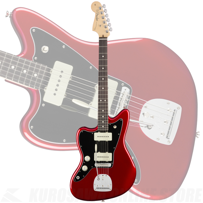 Fender American Pro Left-Handed Jazzmaster, Rosewood Fingerboard, Candy Apple Red《フェンダーアクセサリーキットプレゼント!》(ご予約受付中)【ONLINE STORE】