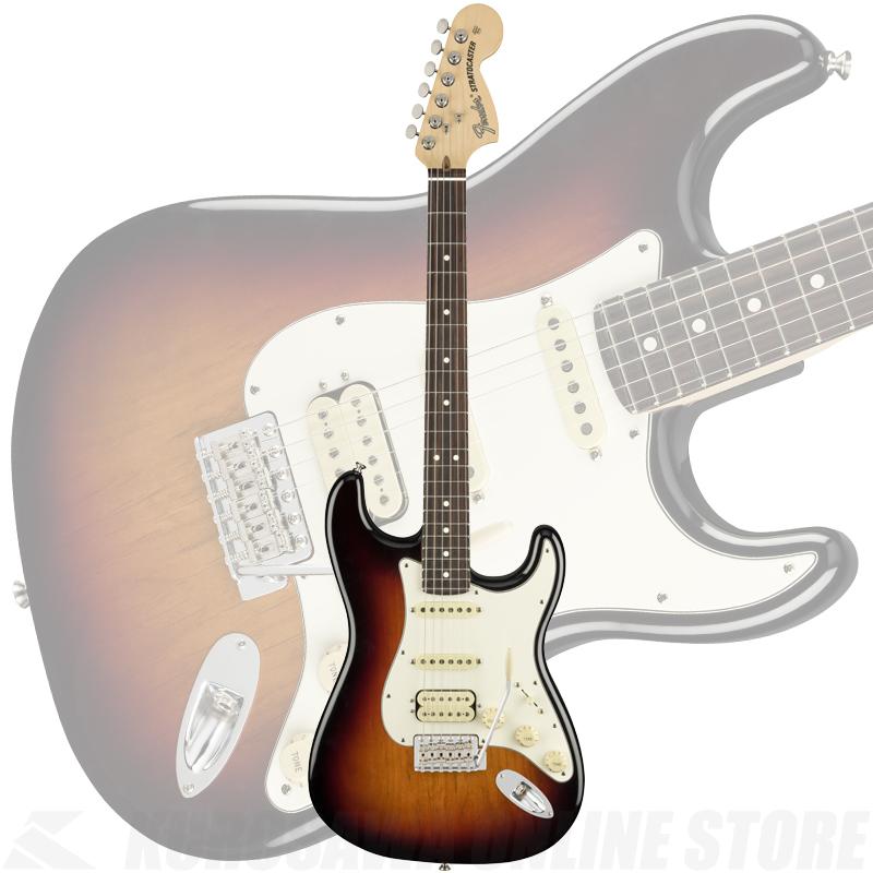 Fender American Performer Stratocaster HSS, Rosewood Fingerboard, 3-Color Sunburst【ONLINE STORE】