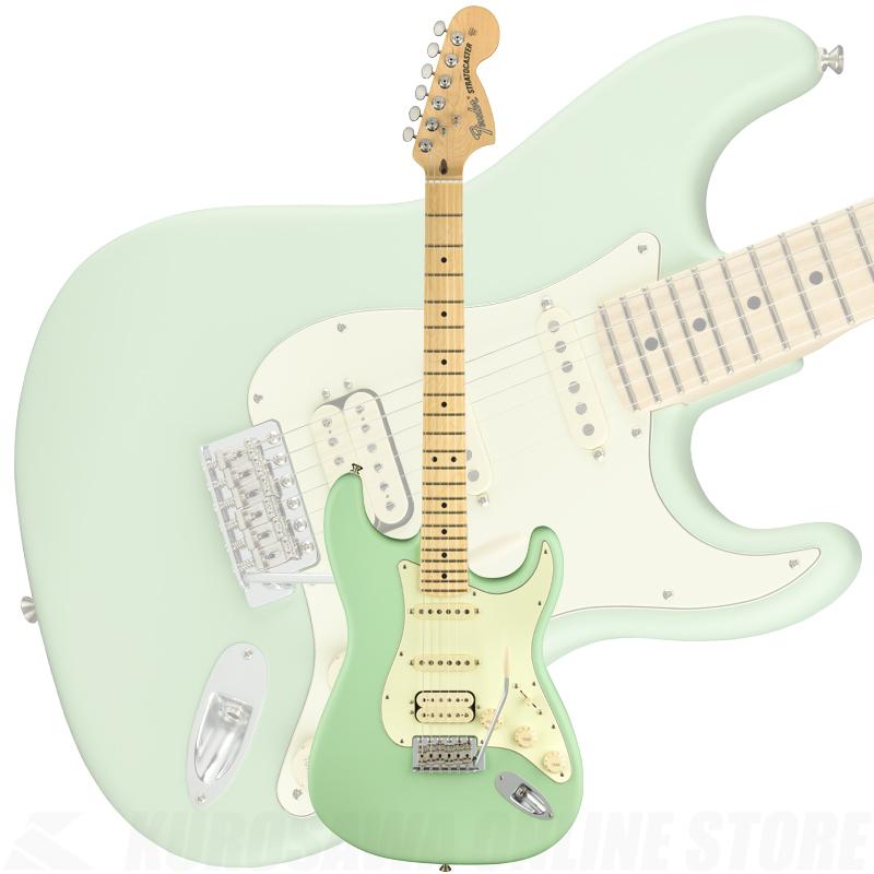 Fender American Performer Stratocaster HSS, Maple Fingerboard, Satin Surf Green【ONLINE STORE】