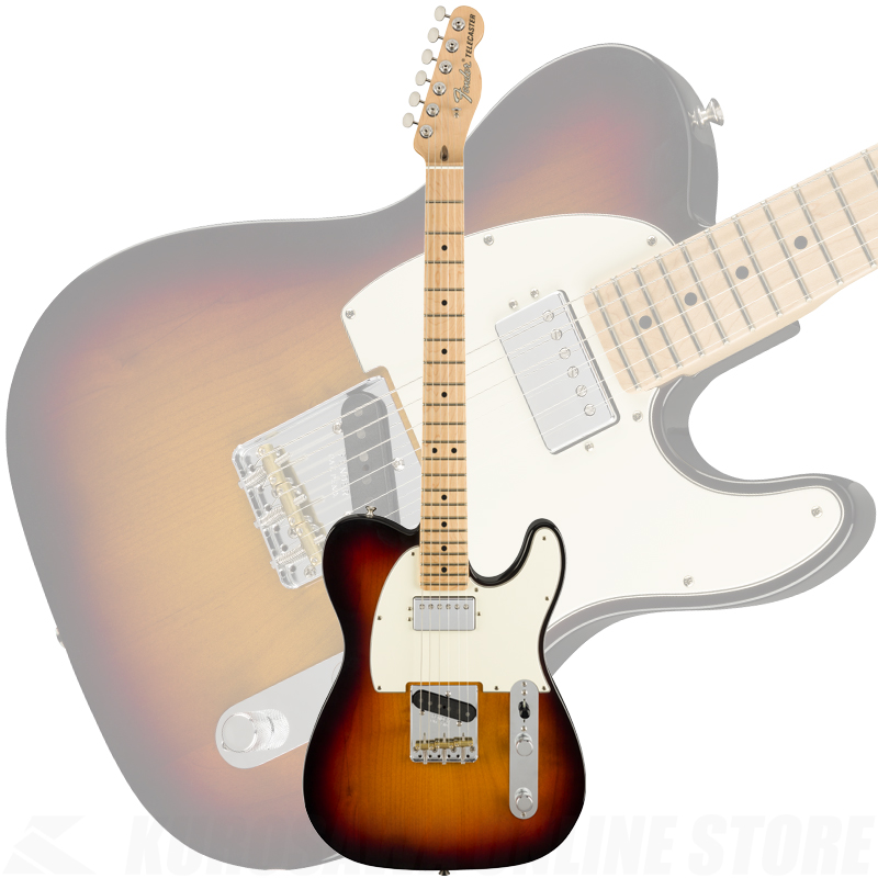 Fender American Performer Telecaster with Humbucking, Maple Fingerboard, 3-Color Sunburst(ご予約受付中)【ONLINE STORE】