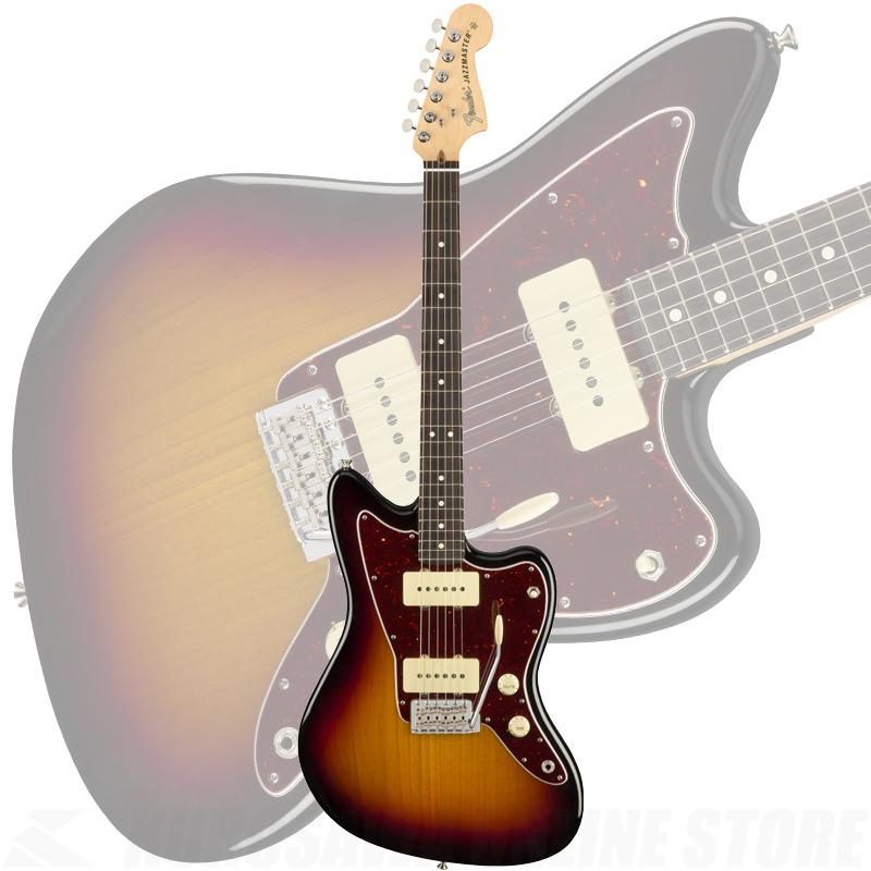 Fender American Performer Jazzmaster, Rosewood Fingerboard, 3-Color Sunburst【ONLINE STORE】