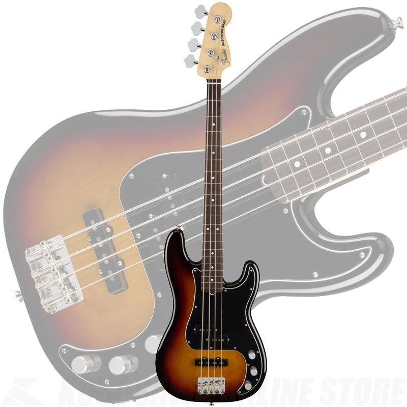 Fender American Performer Precision Bass, Rosewood Fingerboard, 3-Color Sunburst【ONLINE STORE】