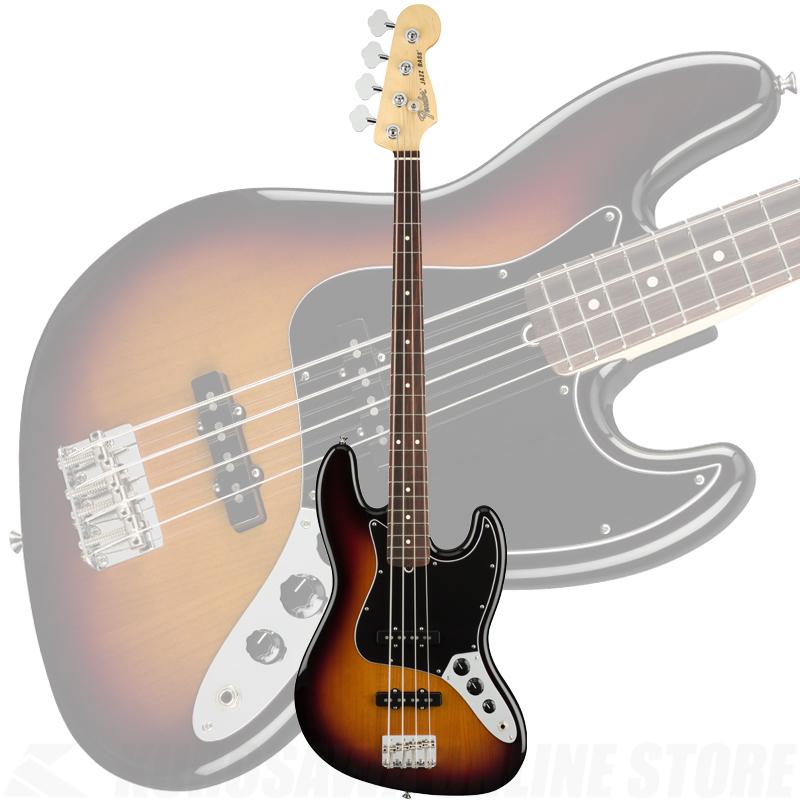 Fender American Performer Jazz Bass, Rosewood Fingerboard, 3-Color Sunburst【ONLINE STORE】