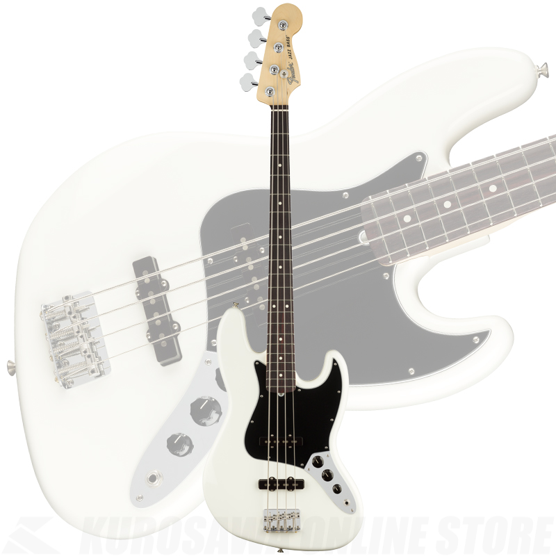 Fender American Performer Jazz Bass, Rosewood Fingerboard, Arctic White【ONLINE STORE】