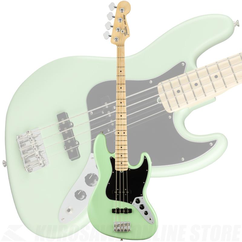 Fender American Performer Jazz Bass, Maple Fingerboard, Satin Surf Green【ONLINE STORE】