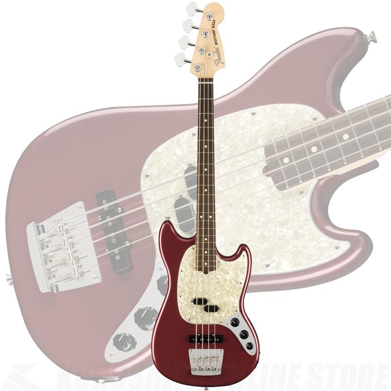 Fender American Performer Mustang Bass, Rosewood Fingerboard, Aubergine【ONLINE STORE】