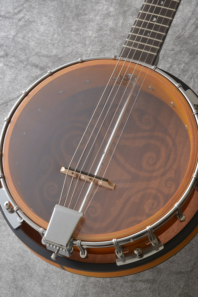 LUNA Guitars Folk Series 6 String Banjo [BGB CEL 6] 《バンジョー》【送料無料】(ご予約受付中)【ONLINE STORE】