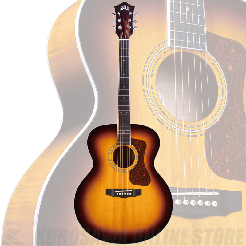 GUILD F-250E DELUXE【送料無料】《サントアンジェロAcousticケーブルプレゼント!》【ONLINE STORE】