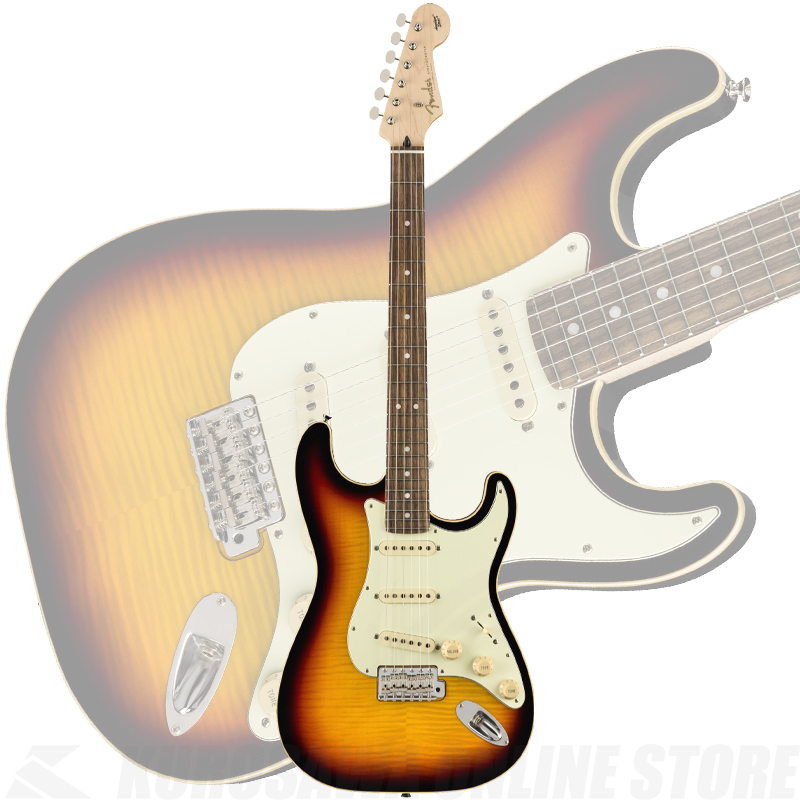 Fender Limited Edition Aerodyne Classic Stratocaster Flame Maple Top,3-Color Sunburst【ONLINE STORE】