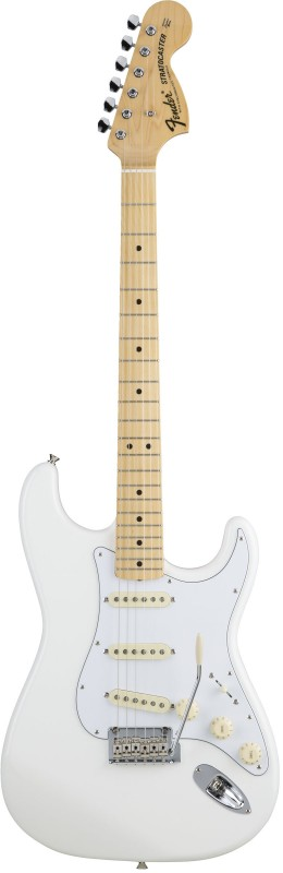 【2018A/W新作★送料無料】 Fender Made in Japan Made Hybrid Arctic MIJ '68 Stratocaster, Maple, STORE】 Arctic White [5650682380]【ONLINE STORE】, 花とインテリア雑貨 Fleur Bazar:d73c22b6 --- totem-info.com