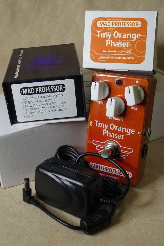 MAD PROFESSOR Tiny Orange Phaser 《エフェクター/フェイザー》【送料無料】 【店頭展示アウトレット特価!】【ONLINE STORE】