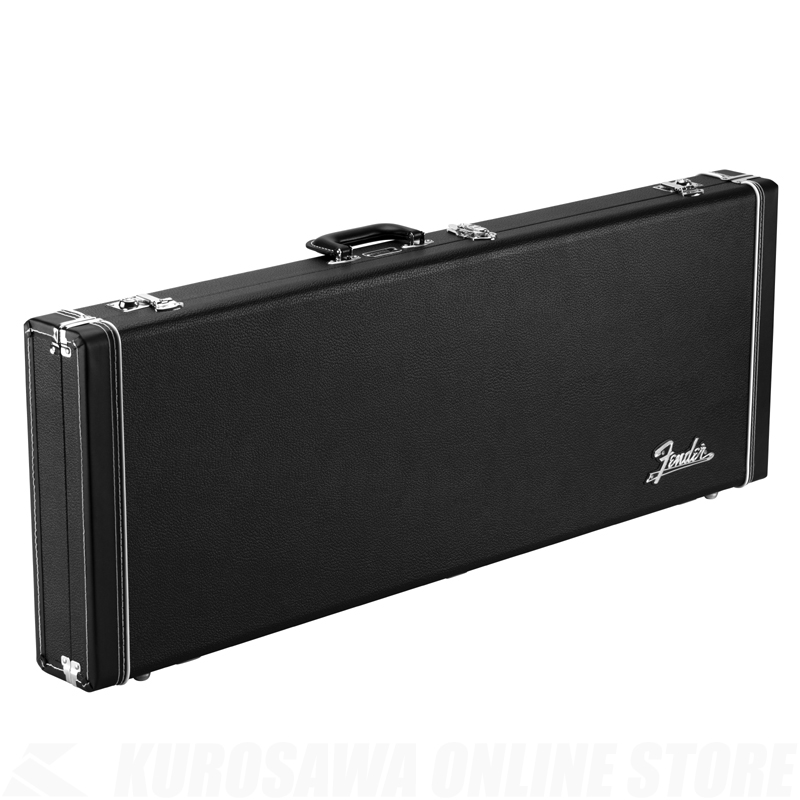 Fender Classic Series Wood Case-Jazzmaster/Jaguar, Black 【ONLINE STORE】