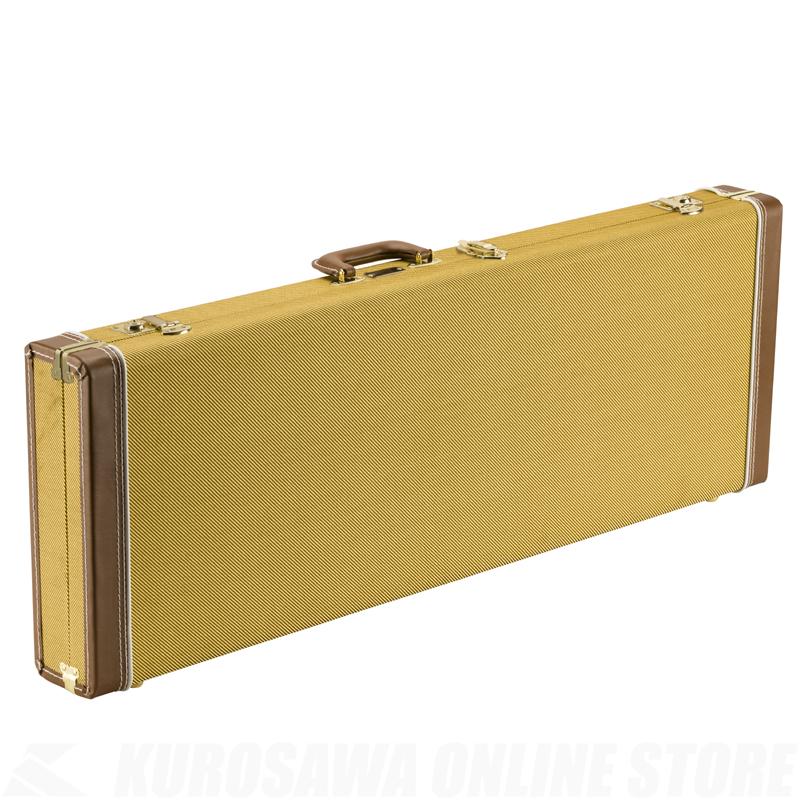 Fender Case-Strat/Tele, Classic Series Wood Case-Strat/Tele, Wood Classic Tweed《エレキギター用ケース》【送料無料】【ONLINE STORE】, 現代質屋 夢市場 プレミア:dcb174e6 --- ww.thecollagist.com