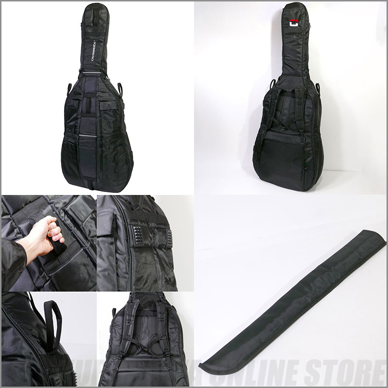 CROSSROCK 3/4 size double bass bag[CRDB206CETBK]【送料無料】【ONLINE STORE】