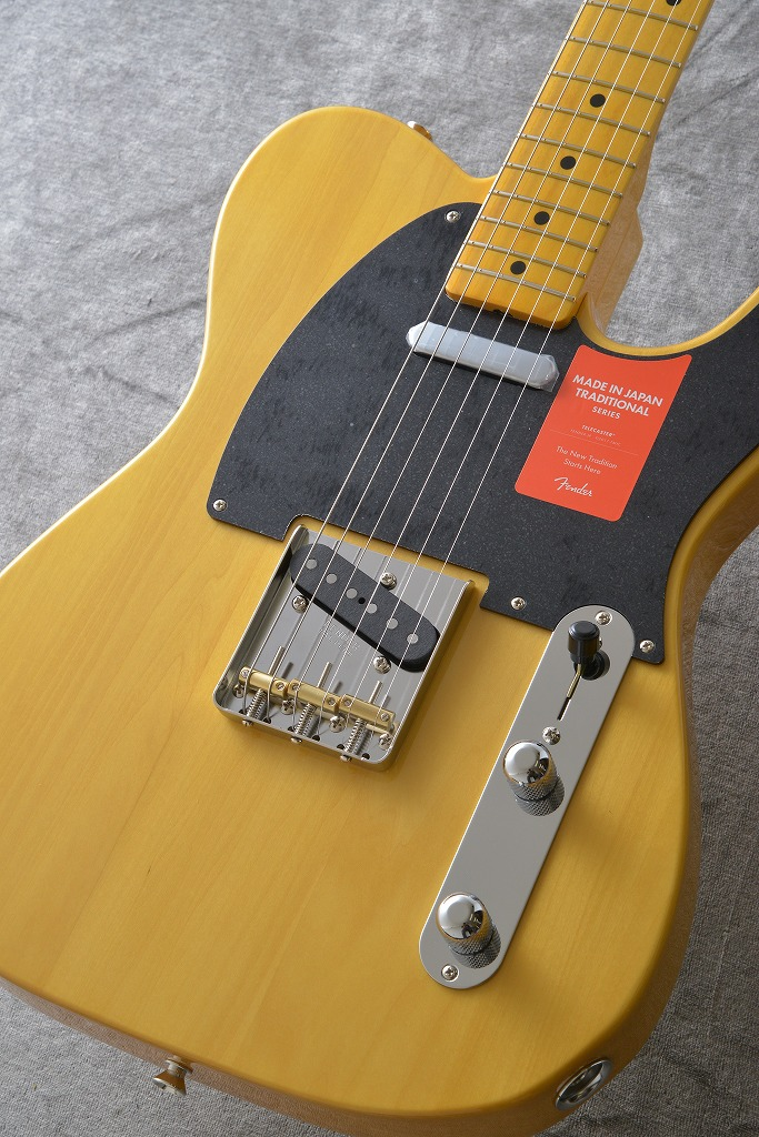Fender MIJ Traditional 50s Telecaster VNT【送料無料】【フェンダーアクセサリーキットプレゼント!】【ONLINE STORE】