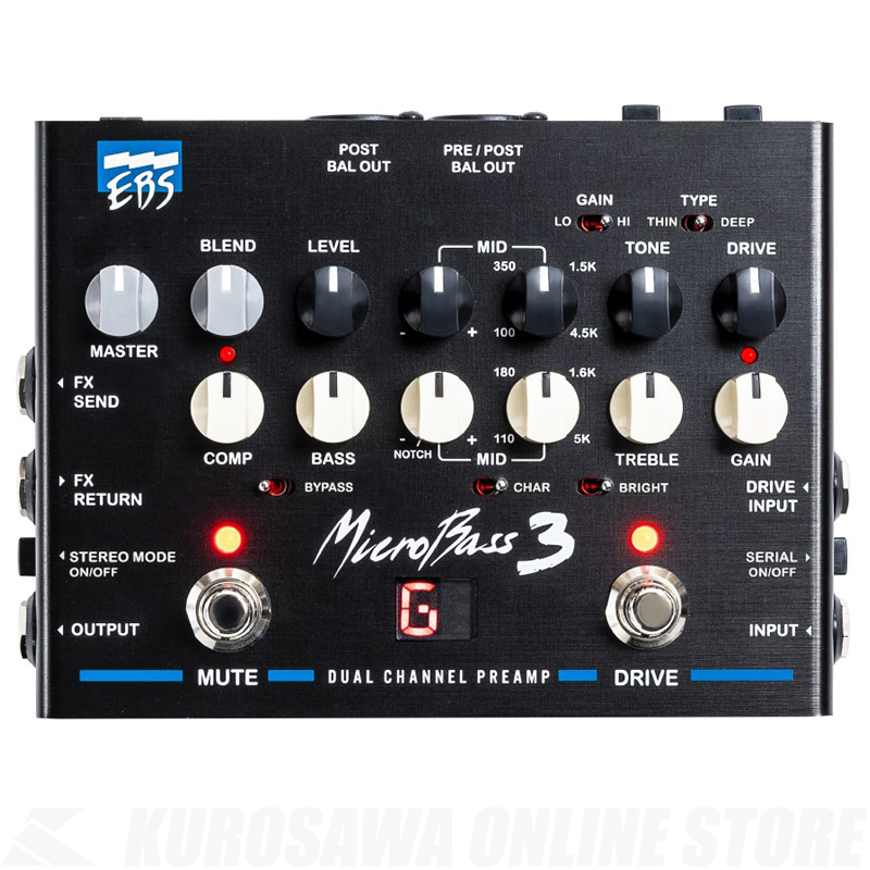 EBS MICROBASS3【送料無料】【ONLINE STORE】