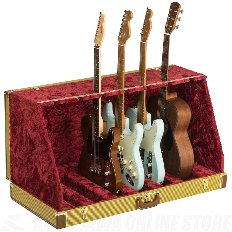Fender Classic Series Case Stand,Tweed,7 Guitar《ケーススタンド》【送料無料】【ONLINE STORE】