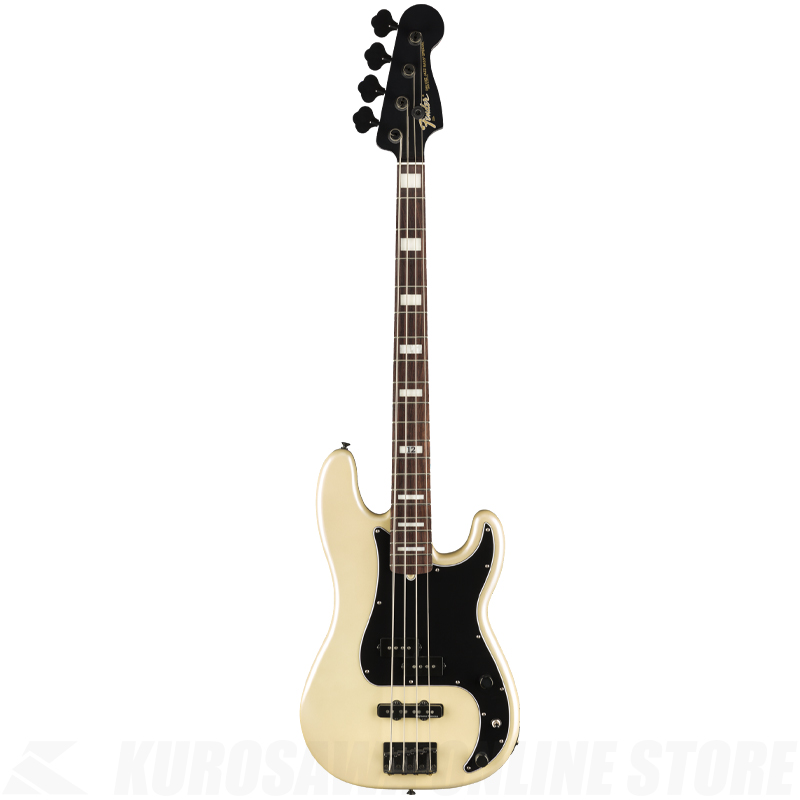 Fender Duff McKagan Deluxe Precision Bass,White Pearl【サントアンジェロケーブルプレゼント】(ご予約受付中)【ONLINE STORE】