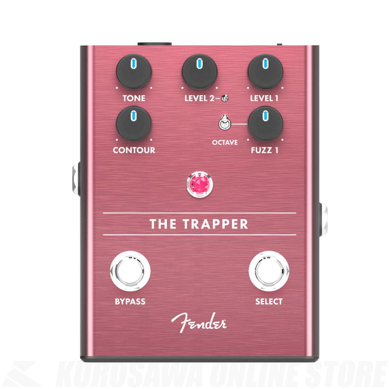 Fender THE TRAPPER DUAL FUZZ《ファズペダル》【送料無料】【ONLINE STORE】