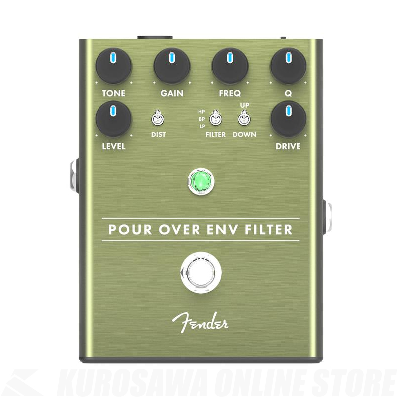Fender POUR OVER ENVELOPE FILTER《エンヴェロープフィルターペダル》【送料無料】【ONLINE STORE】