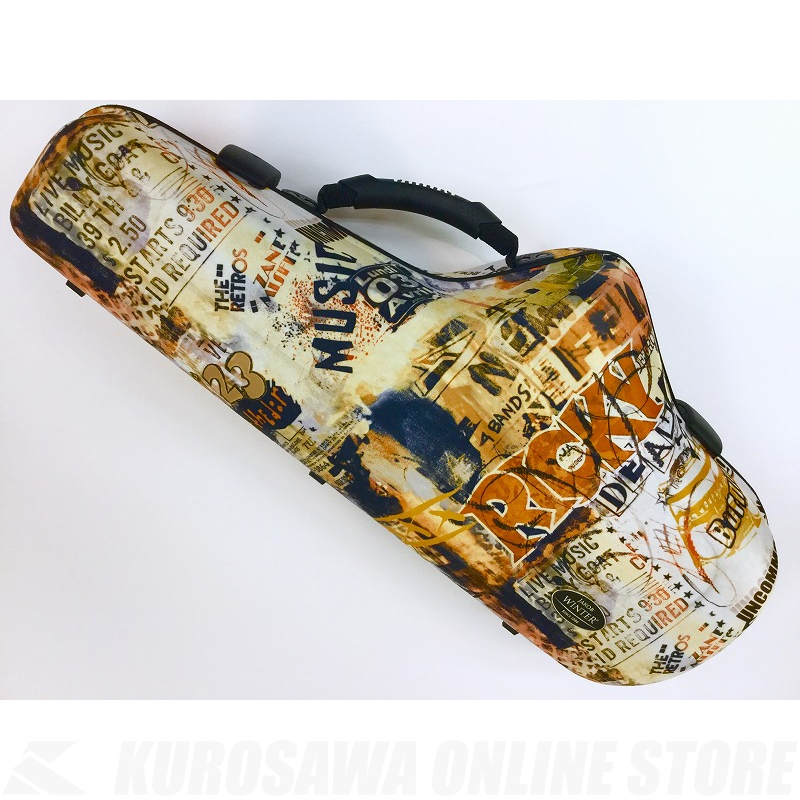 Jakob Winter JW51092-OR Wave Shaped Case Orange Wave Alto《アルトサックス用ケース》【送料無料】【ONLINE STORE】