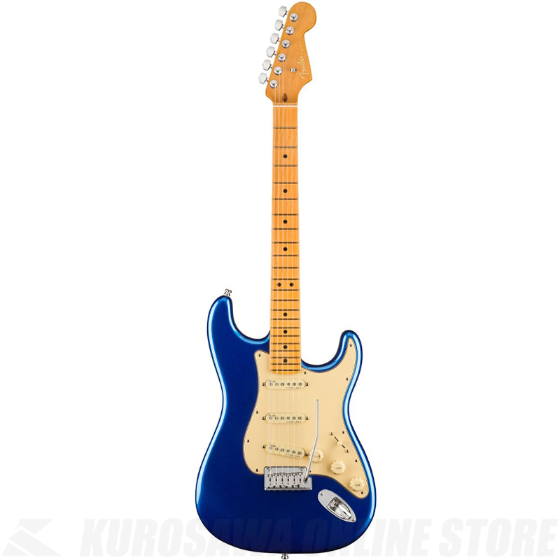 Fender American Ultra Stratocaster,Maple Fingerboard,Cobra Blue【小物セットプレゼント!】【ONLINE STORE】
