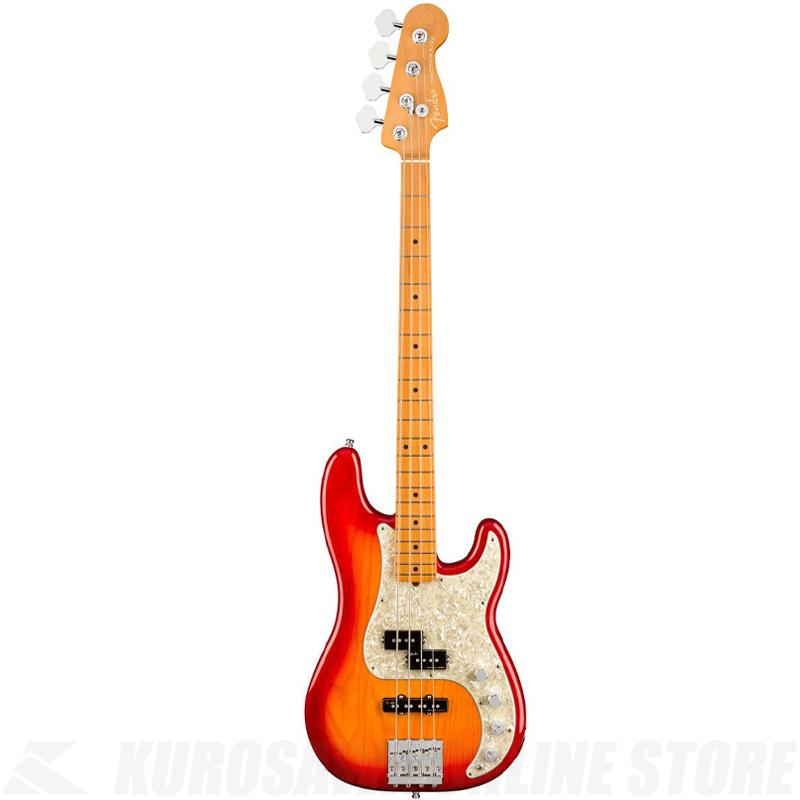 Fender American Ultra Precision Bass,Maple Fingerboard,Plasma Red Burst【小物セットプレゼント!】【ONLINE STORE】