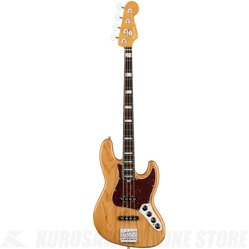 Fender American Ultra Jazz Bass,Rosewood Fingerboard,Aged Natural【小物セットプレゼント!】【ONLINE STORE】