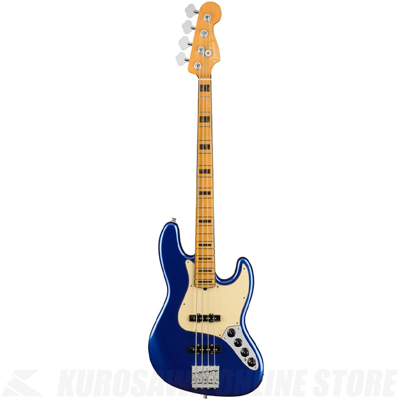 Fender American Ultra Jazz Bass,Maple Fingerboard,Cobra Blue【小物セットプレゼント!】【ONLINE STORE】