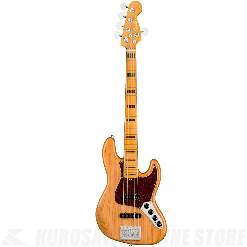 Fender American Ultra Jazz Bass V,Maple Fingerboard,Aged Natural【小物セットプレゼント!】【ONLINE STORE】