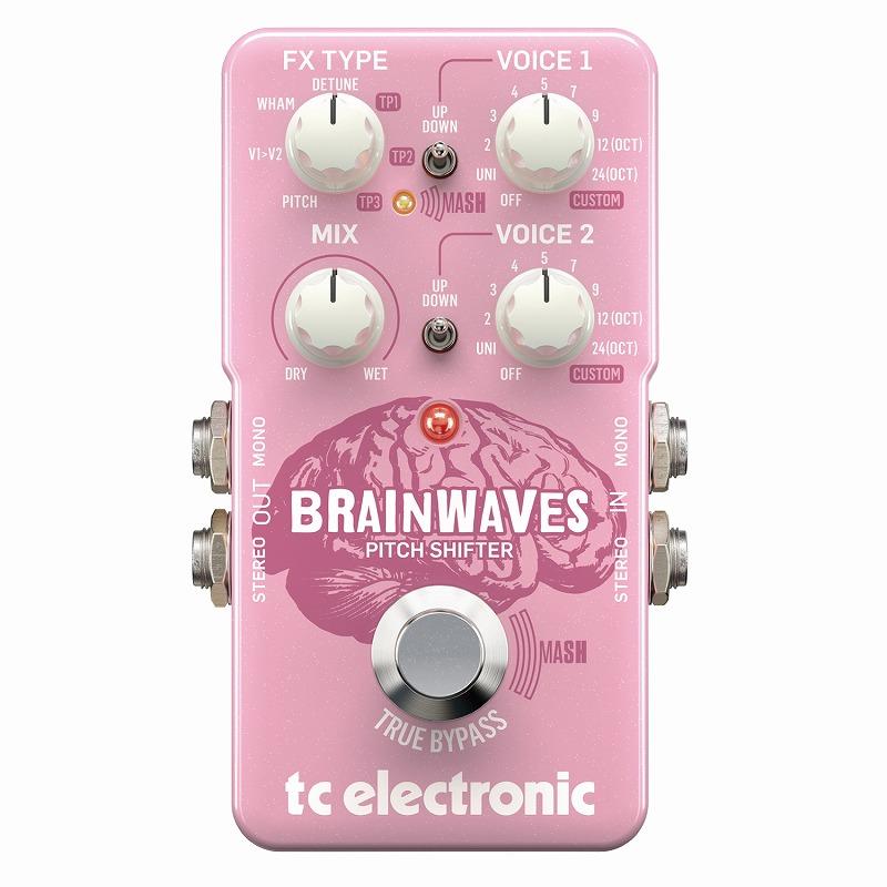 tc electronic BRAINWAVES [ピッチシフター]【ONLINE STORE】