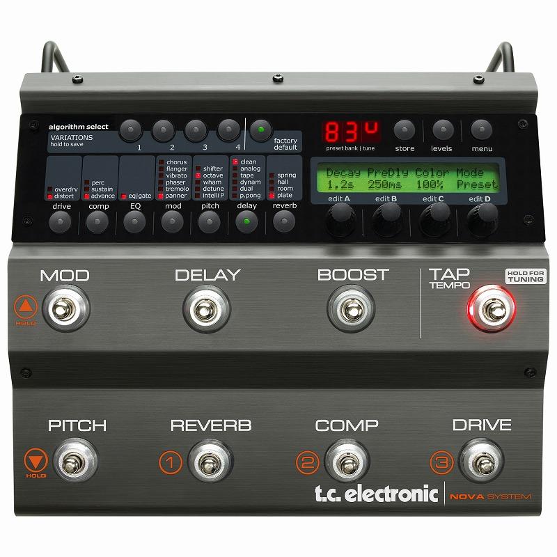 tc electronic NOVA SYSTEM [エフェクト・ソリューション]【ONLINE STORE】